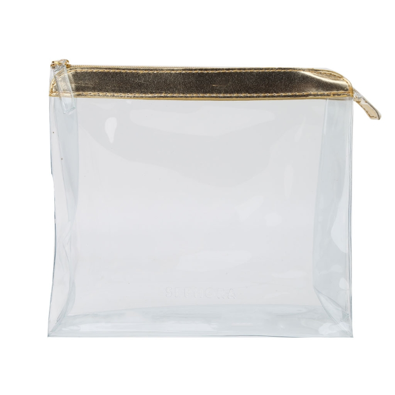 Women PVC Clear Cosmetic Bags Makeup Bag Toiletry 2017 Zipper Pouch Storage Transparent Large Capacity New Travel Portable Bags
