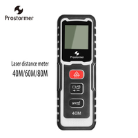 Prostormer Digital Laser Rangefinder Roulette 40 60 80M Laser Distance Meter Measuring Build Measure Device Ruler