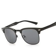 HEPIDEM алюминиево-магниевый ретро поляризованных солнцезащитных очков мужчин Брендовая Дизайнерская обувь винтажные Серый очки Аксессуары солнцезащитные очки для мужчин