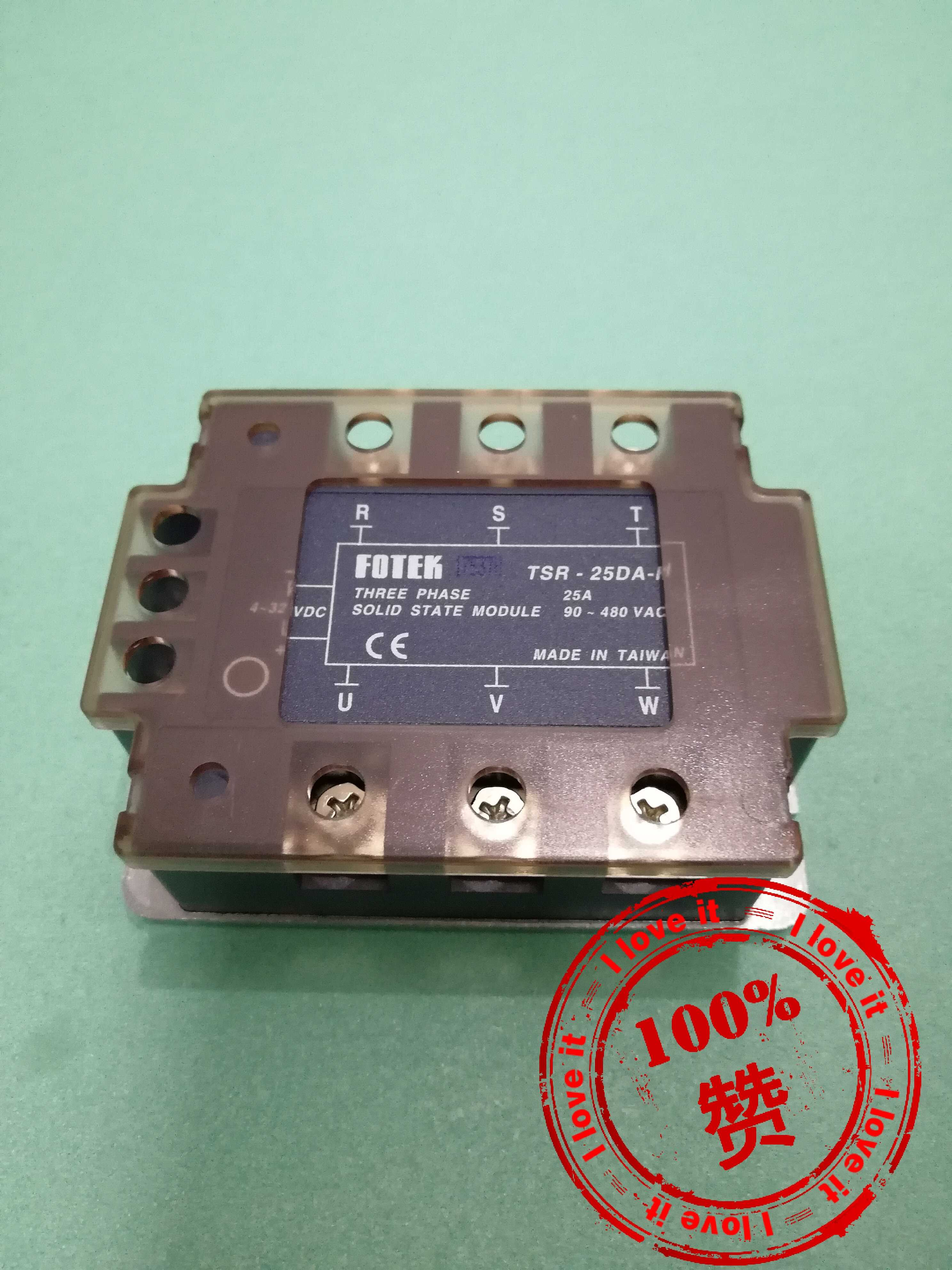 New Imported TSR-25DA-H Three-phase Solid State Relay Withstands High Voltage 25A