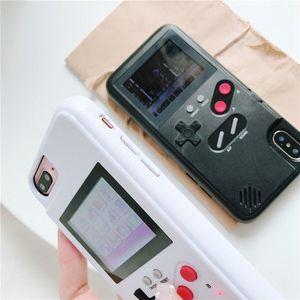 Image 4 - Чехол для телефона с цветным дисплеем и 36 классическими играми для iPhone 11 Pro X XS Max XR 6S 6 7 8 Plus, мягкий силиконовый чехол из ТПУ с консолью Game boy