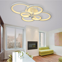 Remote Control Living Room Bedroom Modern Led Ceiling Lights Dimming Led Ceiling Lamp Multiple Combination Personality
