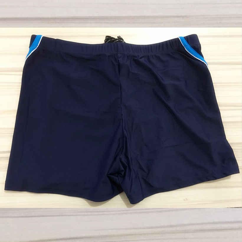 Plus Size Badmode Mannen Zwembroek Heren Zwemmen Shorts Ritsvak Badpak Man Sexy Gay Boxer Slips Beach Wear Zwemmen pak