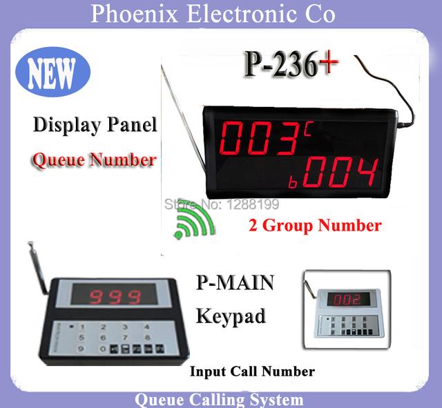 Sistemas de filas Com O Serviço Ao Cliente Número de Sino e um Receptor Sem Fio 433.92 mhz Pode Trabalhar Com Fila de Relógio de Cozinha