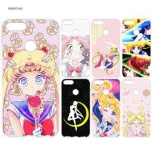 Sailor Moon Anime Cartoon Silicone TPU Case Cover for Xiaomi