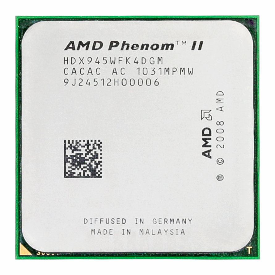 <font><b>AMD</b></font> Phenom II X4 945 95W 3.0GHz 6MB Quad-Core <font><b>CPU</b></font> Processor Socket <font><b>AM3</b></font> image