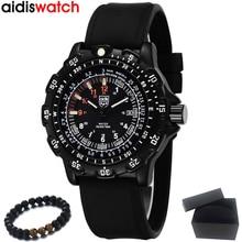 יוקרה למעלה מותג ADDIES 2020 גברים שעונים ספורט צבאי באיכות שעונים עמיד למים זוהר שעון Mens שעון Relogio Masculino