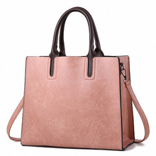 Women Leather Handbag Large Capacity