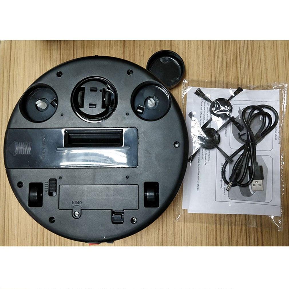Haushalt Kleine Größe USB Lade Smart Waschbar Auto Robotic Mopp Boden Roboter Staubsauger Reinigung Gerät