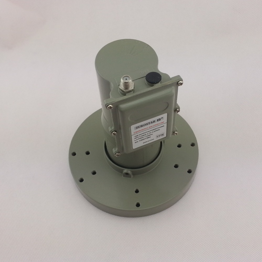For Anti Interference High Gain Low Noise Single Output C Band LNB