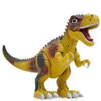 Kids Toy Walking Dinosaur Toy Figure With Lights Sounds Real Movement Tyrannosaurus Rex Durable ABS Plastic