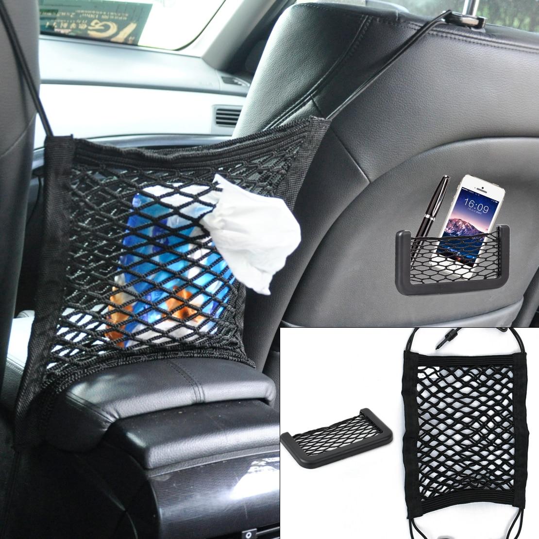 DWCX font b Car b font Elastic String font b Storage b font Bag Seat Hanging