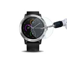 Película de vidro temperado protetora para garmin vivoactive 3, película protetora de vidro para smartwatch vivoactive3, tela de treinador/3t