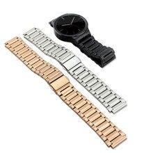 Новый Роскошный Элегантный браслет Из Нержавеющей Стали Ссылка Браслет Ремешок Для Часов Ремешок для Huawei Смарт-Часы