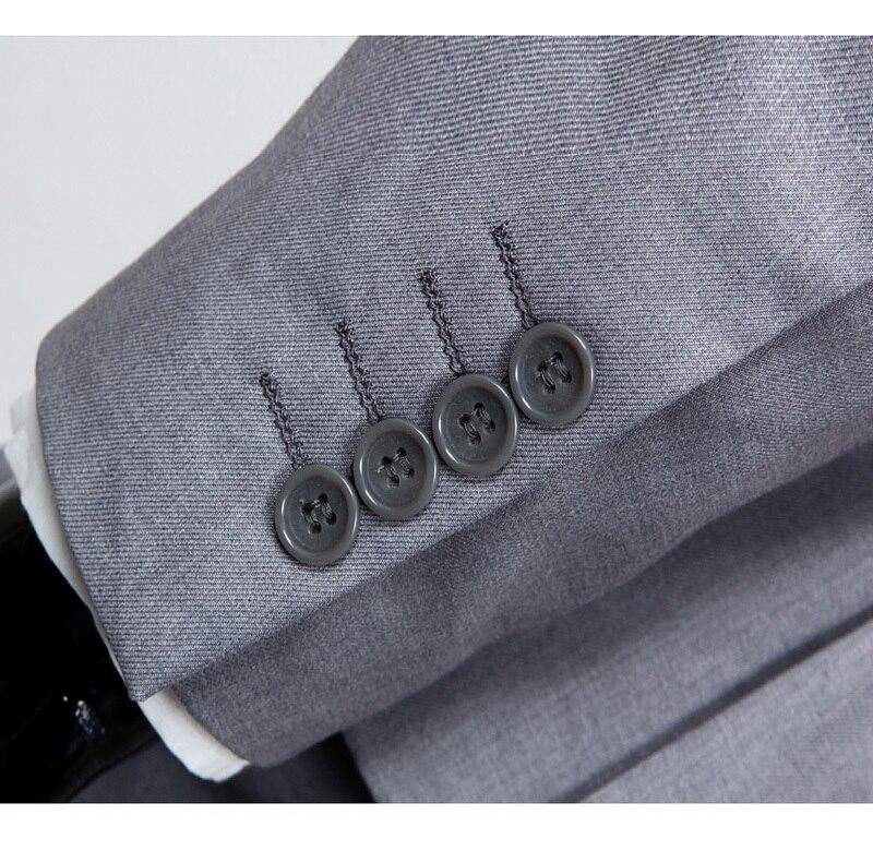 2018 ny ankomst terno masculino Business casual kostymer män - Herrkläder - Foto 5