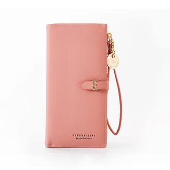 Wristband Women Long Wallet Many Departments Female Wallets Clutch Lady Purse Zipper Phone Pocket Card Holder Ladies Carteras 11