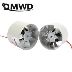 "DMWD 4 inch Kitchen Toilet Exhaustfan 4"" 100MM Louver Mini Window Exhaust Fan Air Ventilation Draft Blower Metal Pipe Exhauster(China)"