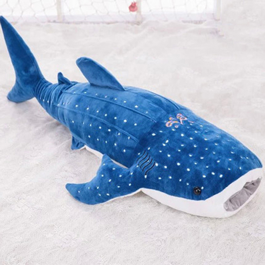 Plush Pillow Dolls Sleep Puff Gigante Para Dormir Kids Toys Pelucia Gigante Giant Stuffed Animals Shark Plush Toy Pillow 60G0283 mr froger carcharodon megalodon model giant tooth shark sphyrna aquatic creatures wild animals zoo modeling plastic sea lift toy
