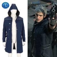 Новое поступление Devil May Cry 5 костюм Для мужчин куртка игровой персонаж Nero Косплэй костюм для Хэллоуина Игра Наряд индивидуальный заказ