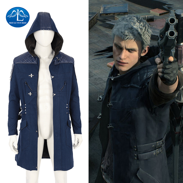 New Arrival Devil May Cry 5 Costume Men Jacket Game Character Nero