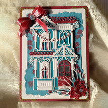 GJCrafts House Castle Metal Cutting Dies New 2019 for Dies Scrapbooking Card Making Craft Dies Album Embossing Window Cuts Dies
