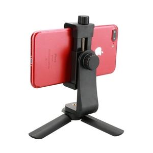 Image 5 - Adaptador de montaje en trípode con Clip para teléfono Ulanzi, soporte Vertical y Horizontal para Disparo de vídeo para iPhone X Samsung One plus