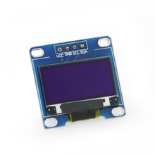 1pc White Color 0.96 Inch Oled Display Module 128*64 Oled Lcd Display I2C 0.96 Iic Serial 128x64 0 96inch oled b lcd led display module 128 64 i2c iic spi straight vertical pinheader yellow blue colors