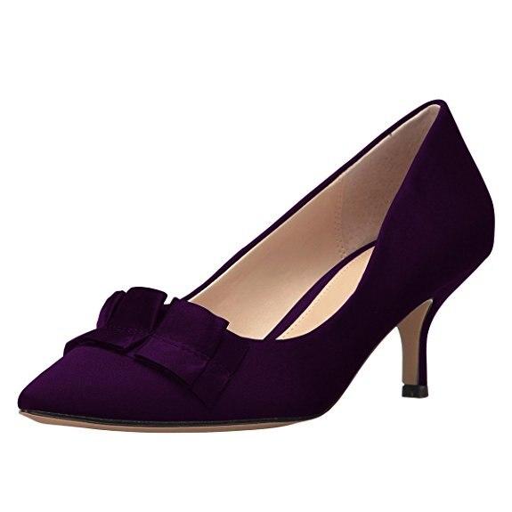 ef09105 Pointu Noir Plus Rouge Violet Femme Ef09102 Purple 4 L'intention Blue ef09103 Mince 15 ef09101 Black Nous Pompes Bout Initiale ef09104 Femmes Vert Chaussures Taille Élégant Bleu Talons ZZP8qw4X