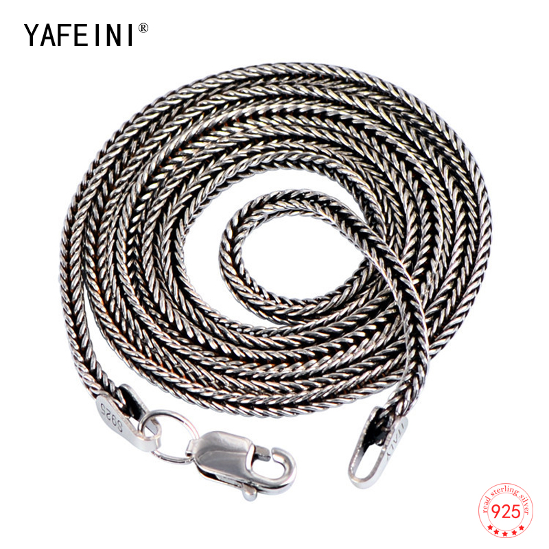 Solid 925 Sterling Silver 1.6mm Round Snake Chain Necklace