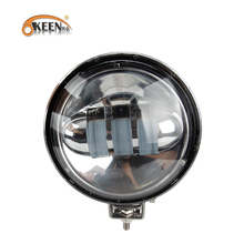 OKEEN 2018 New Car LED 1pcs 60W Round LED Work Light Car Spot Flood Beam Offroad Driving Lighting SUV Bar Boat Fog Lamp 12V 24V