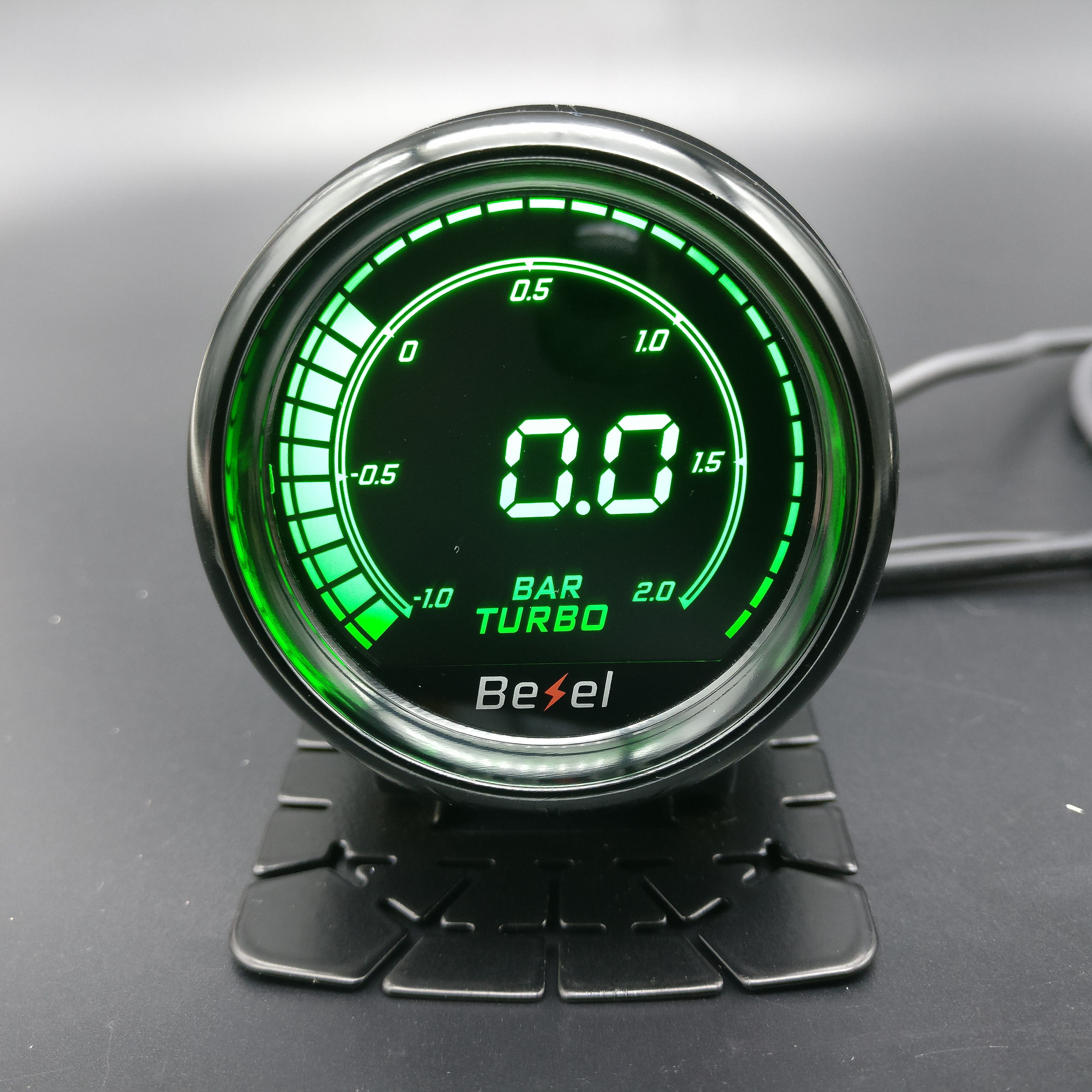 "Universal 2/""//52mm 7Color LED Car Meter BOOST Gauge Turbo Skyline For WRX EVO MPS"