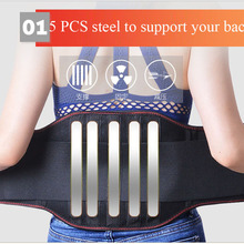 Medical Therapy Breathable Mesh Lower Back Waist Support Bra