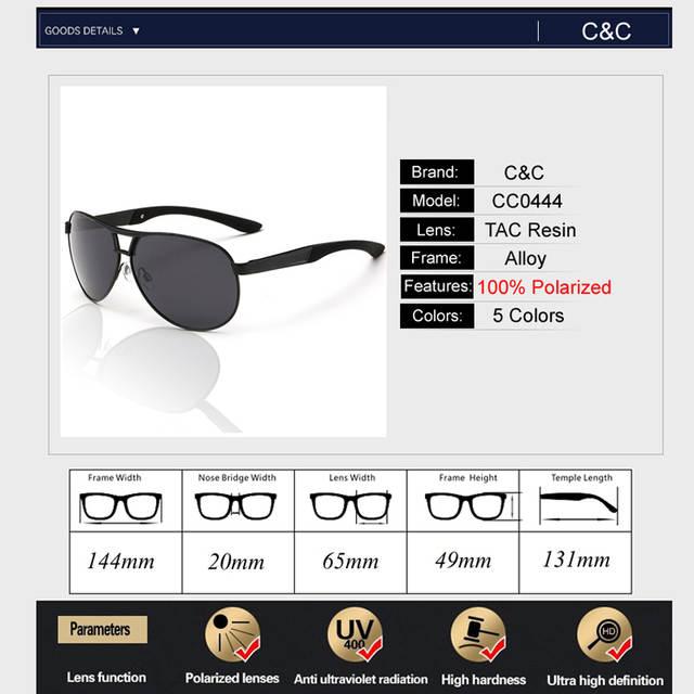 f2e2eda1ce Pro Acme Classic Men Polarized Sunglasses Polaroid Driving Pilot Sunglass  Man Eyewear Sun Glasses UV400 High