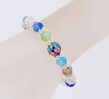 Big Sales Summer Trendy Bracelet Austrian Crystal Zirconia Beads Bangles & Bracelet For Women Girls Party Birthday Jewelry Gift