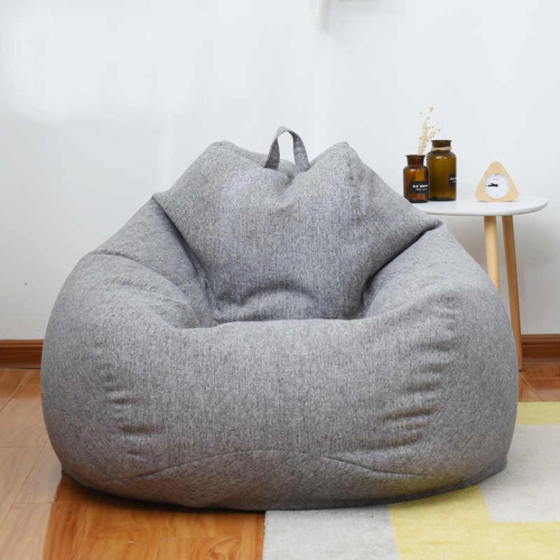 Outdoor single bean bag bank tatami zweet dampende hotel sofa creatieve balkon luie bank bean bag bank FC0070