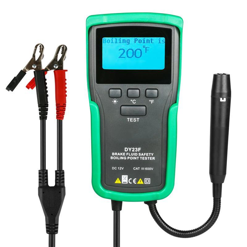 Car diagnostics Brake Fluid Boiling Point Tester Goose Neck Probe 12V DC for DOT3 DOT4 DOT5 DOT5.1 SUPER DOT4 diagnostic tool тормозная жидкость mobil brake fluid dot4 500 мл