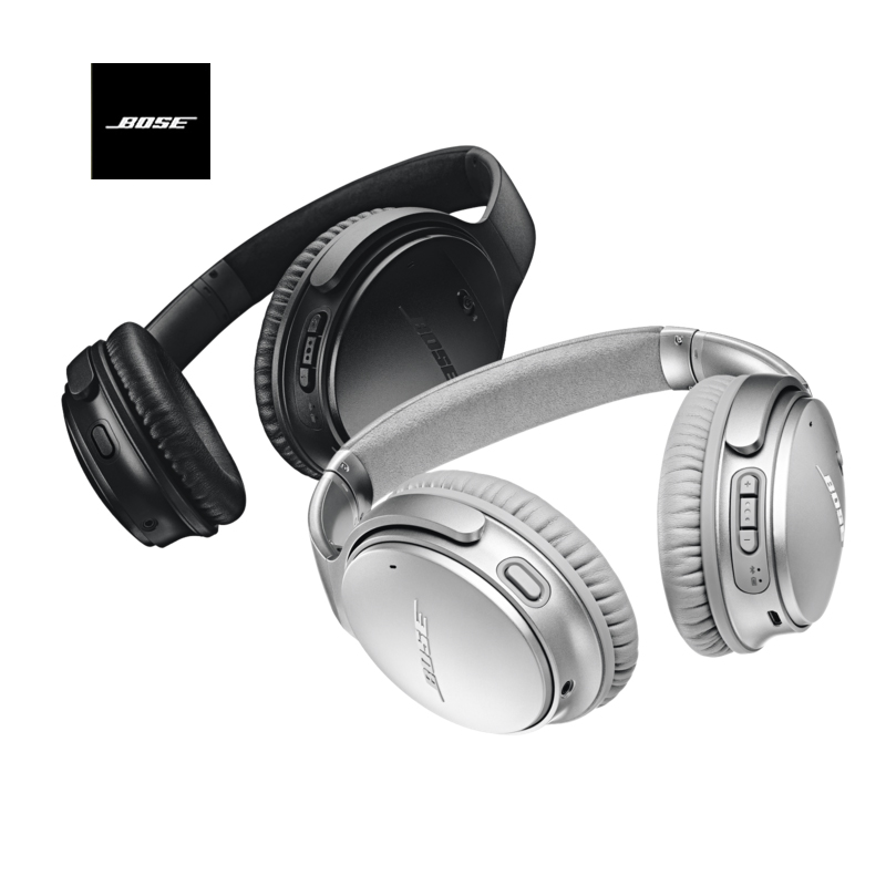 2018 New arrival BOSE QuietComfort 35II Active Noise Cancelling Smart Bluetooth headphones Wireless with double mic HiFi headset newest blon b7s hifi wooden headphones 50mm speaker noise cancelling active dj headset