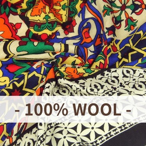 Image 5 - DANA XU New 100% Wool Bufanda Mujer Head Scarves Women Elegant Pashmina Warm Shawl Bandana Scarf Hijab Foulard Femme Poncho