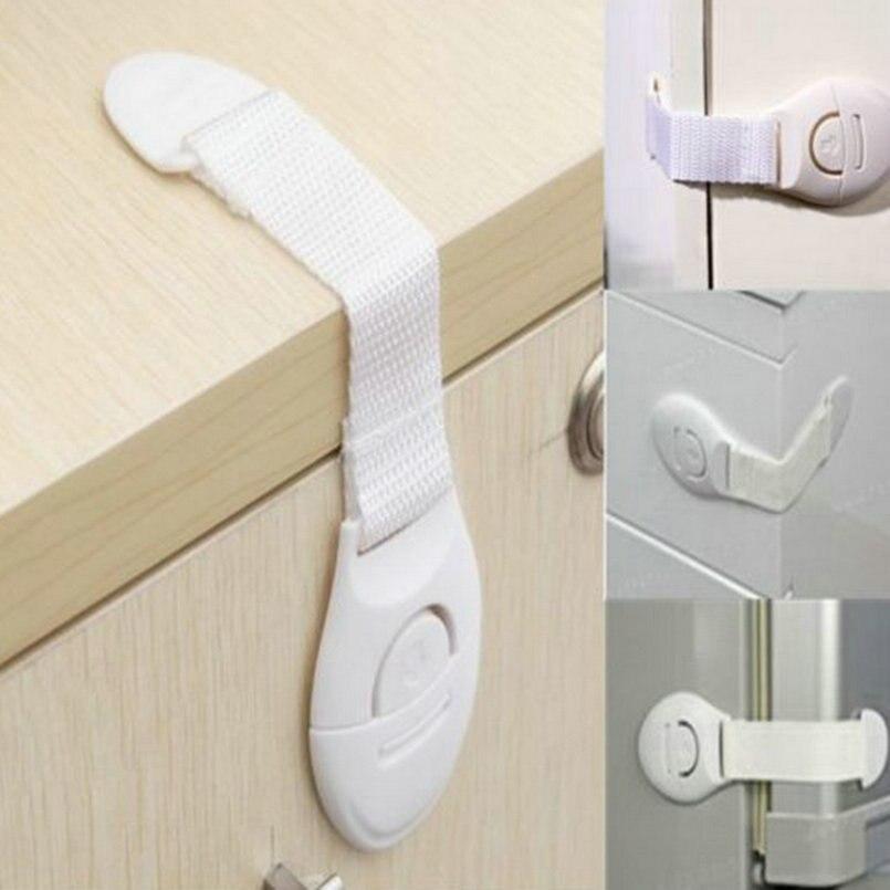 1 Stück Schrank Tür Schubladen Kühlschrank Wc Sicherheit Plastic Lock Für Kind-kind-baby Sicherheit Marke Neue