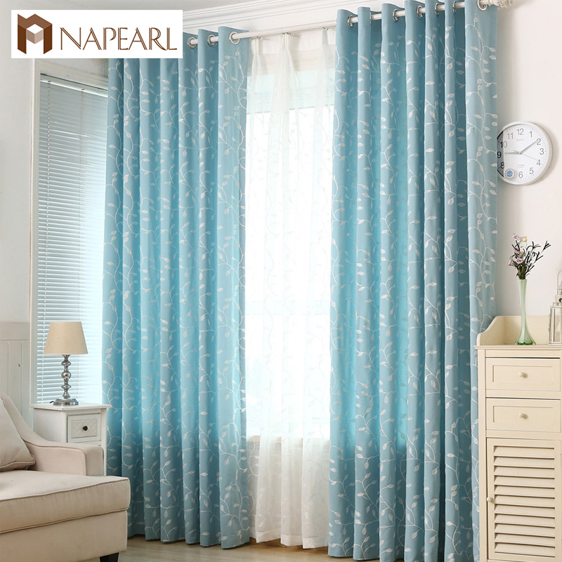 Home Goods Drapes: Home Goods Curtains Drape Pastoral Modern Style Luxury