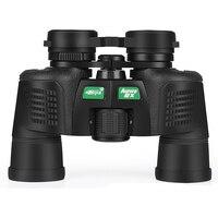 BIJIA 8x40 wide angle military binoculars BAK4 prism green film coating field glasses for hunting travel