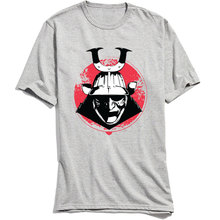 Samurai Way T-shirts Printed Mens Tee Shirts Custom Tshirt Short Sleeve Men T Shirt 100% Cotton Summer Vintage Tops Wholesale