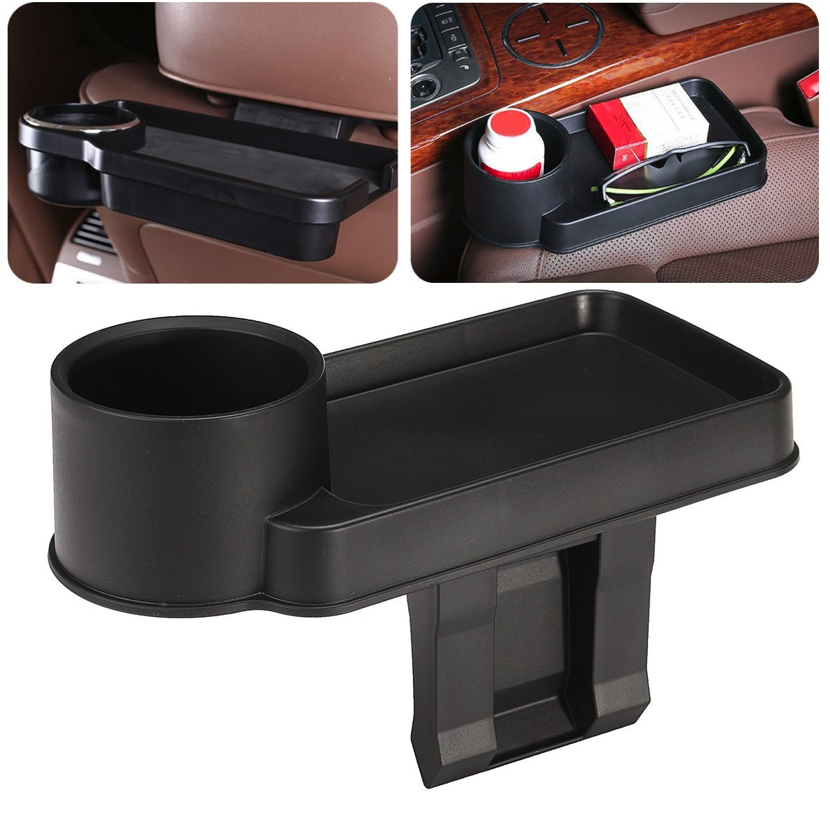 car auto cup holder multifunction vehicle seat cup cell phone drinks holders glove box car. Black Bedroom Furniture Sets. Home Design Ideas