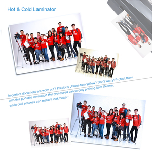 """Image 5 - A4 9"""" Width Photo Paper Hot and Cold Thermal Laminator Machine Two Roller 3 5min Quick Warm up Fast Laminating Speed Jam release"""
