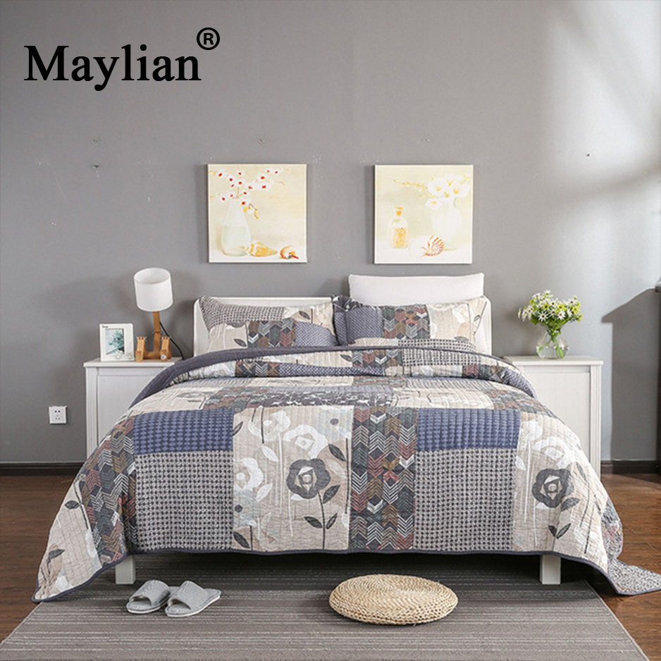 2018 Limited Top Fashion None Quality Printed Duvet Cover Bed Sheet Maylian Quilting Bedding Three Piece American Quilts Be10892018 Limited Top Fashion None Quality Printed Duvet Cover Bed Sheet Maylian Quilting Bedding Three Piece American Quilts Be1089