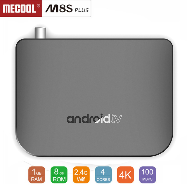 US $32 0 20% OFF|MECOOL M8S Plus DVB T2 / T TV Box Amlogic S905D Android  7 1 1GB RAM + 8GB ROM 2 4G WiFi 100Mbps BT4 1 Support 4K H 265-in Set-top