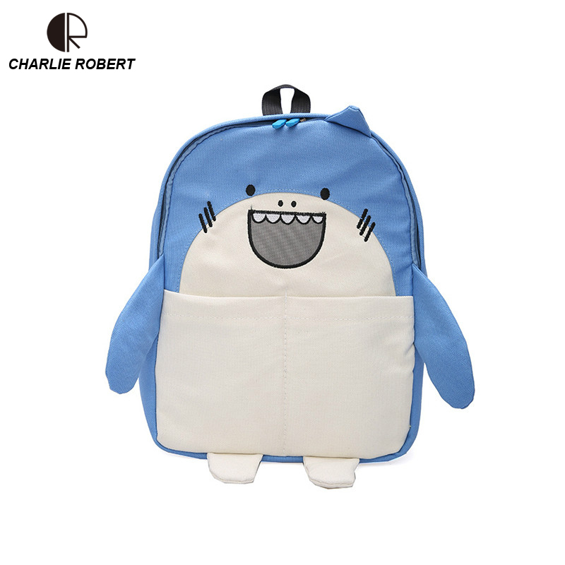 Cute Cartoon Shark & Hamster Women Lady Mini Backpack Panelled Casual Canvas Funny 2019 New Spring Style BackpackCute Cartoon Shark & Hamster Women Lady Mini Backpack Panelled Casual Canvas Funny 2019 New Spring Style Backpack
