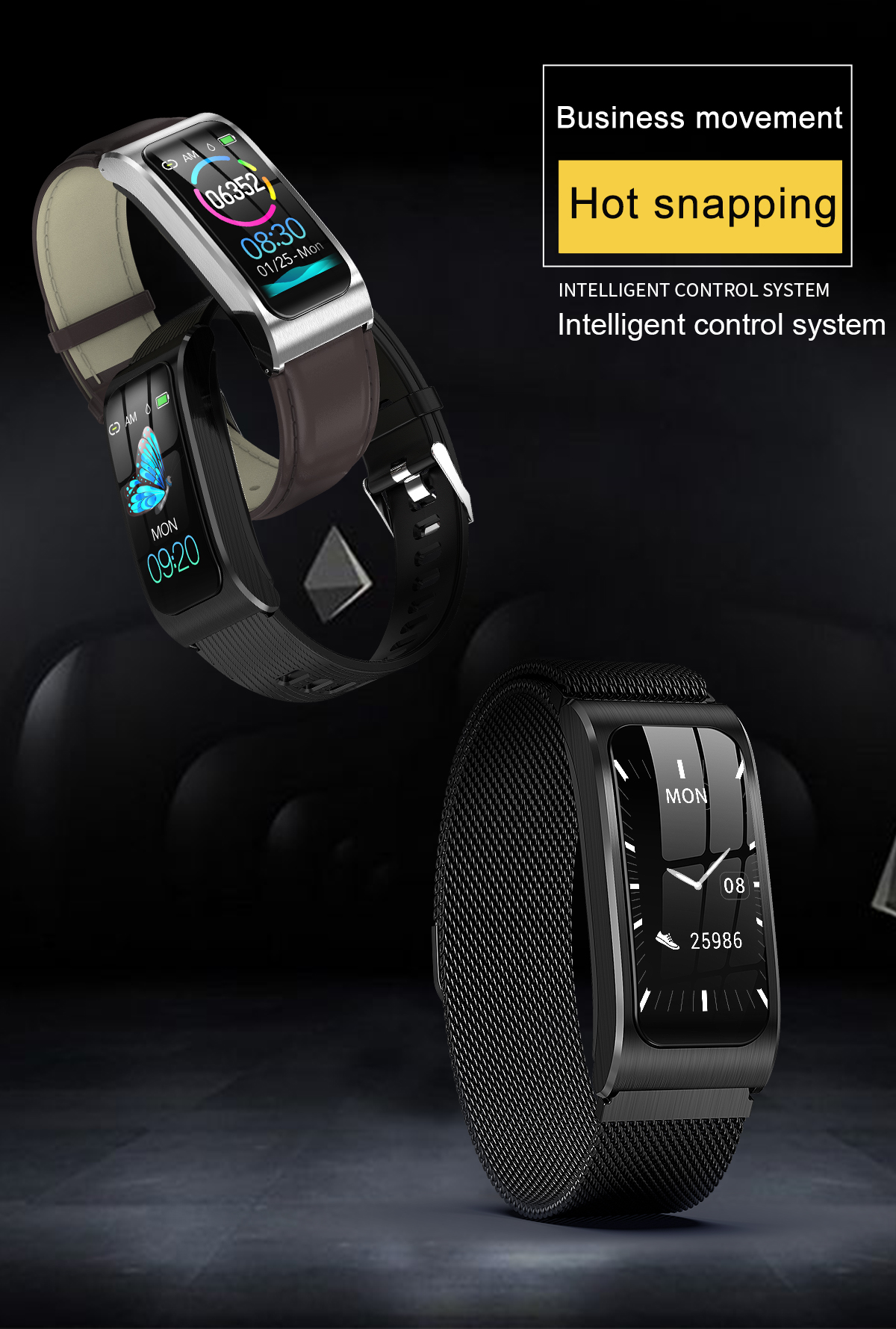 """Smartwatch 1,14"""" IP68 impermeable Android IOS 2"""