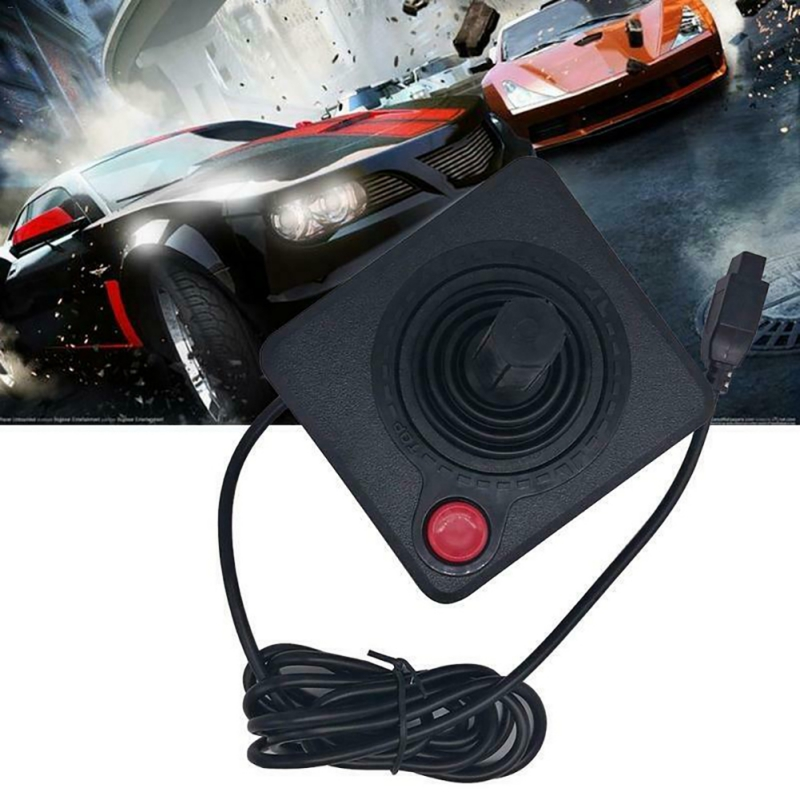 Atar game console accessories handle Gaming Joystick Classical Game Console Controller  For Atari 2600 SysteWith Extension Cable