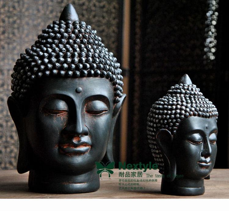 Wholesale buddhist supplies bless home health luck - Bouddha statue deco ...
